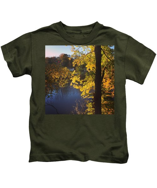 The Brilliance Of Nature Leaves Me Speechless Kids T-Shirt