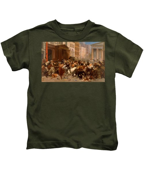 The Bulls And Bears In The Market Kids T-Shirt