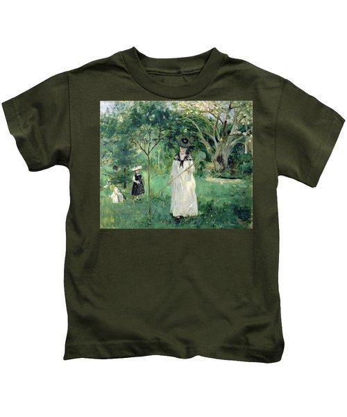 The Butterfly Hunt Kids T-Shirt