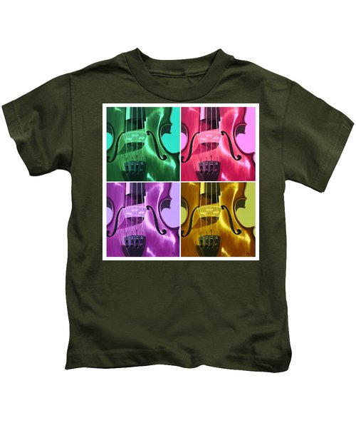 The Colors Of Sound Kids T-Shirt
