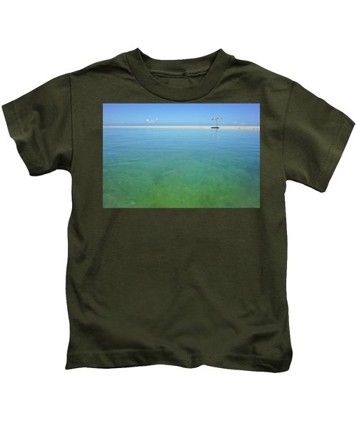 The Colours Of Paradise On A Summer Day Kids T-Shirt
