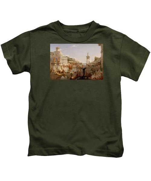 The Consummation The Course Of The Empire  Kids T-Shirt