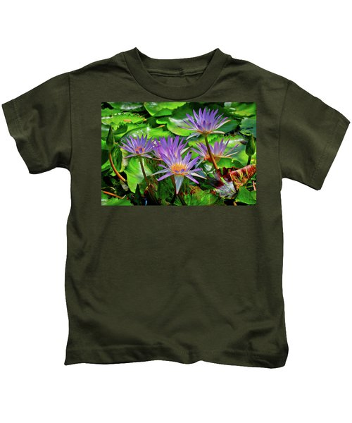 The Dance Of The Lillies Kids T-Shirt