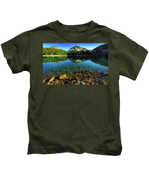 The Depths Of Lake Helen Kids T-Shirt