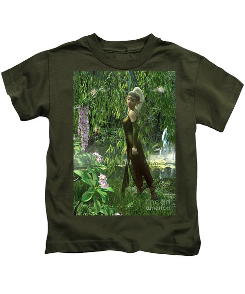 The Elven Realm Kids T-Shirt