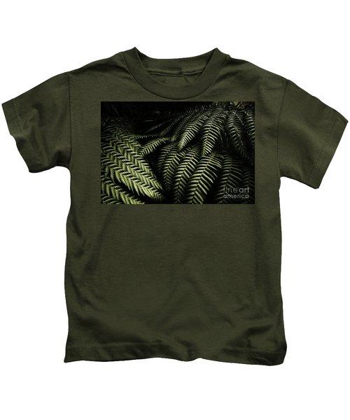 The Exotic Dark Jungle Kids T-Shirt