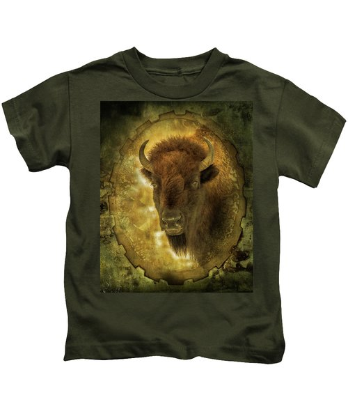 The Face Of Tatanka Kids T-Shirt