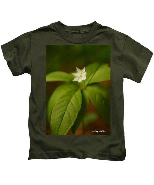 The Flower Of The Dark Woods Kids T-Shirt