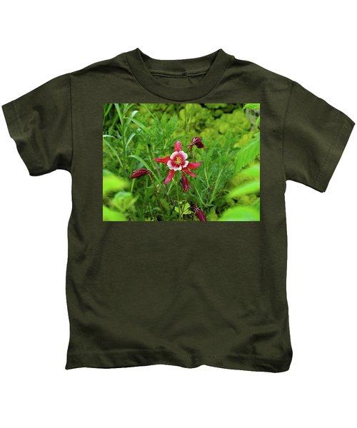 The Flowering Columbine Kids T-Shirt