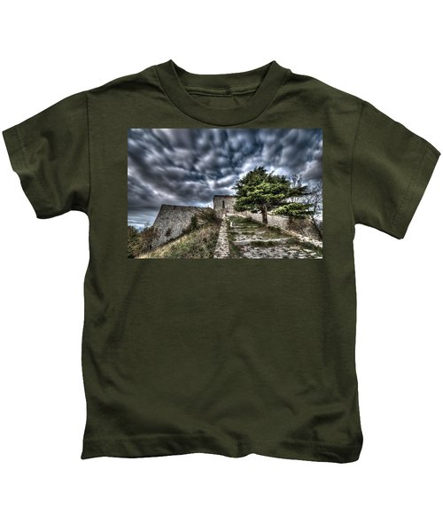 The Fortress The Tree The Clouds Kids T-Shirt