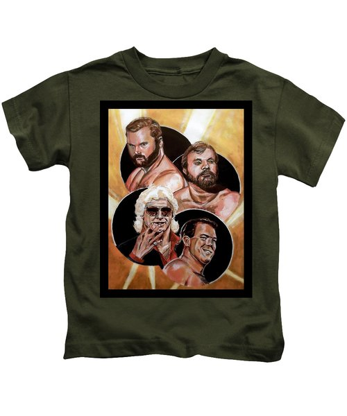 The Four Horsemen Kids T-Shirt