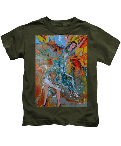 The Glory Of The Lord Kids T-Shirt