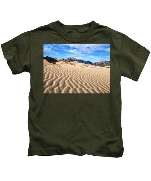 The Great Sand Dunes Of Colorado Kids T-Shirt