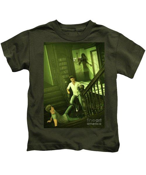 The Haunted Manor Kids T-Shirt