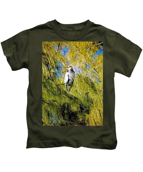 The Heron's Whiskers Kids T-Shirt