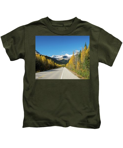 The Icefields Parkway Kids T-Shirt