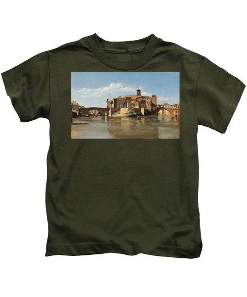 The Island And Bridge Of San Bartolomeo Kids T-Shirt