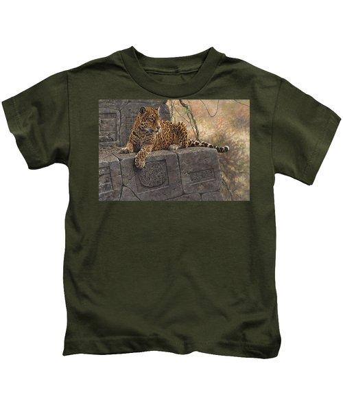 The Jaguar King Kids T-Shirt