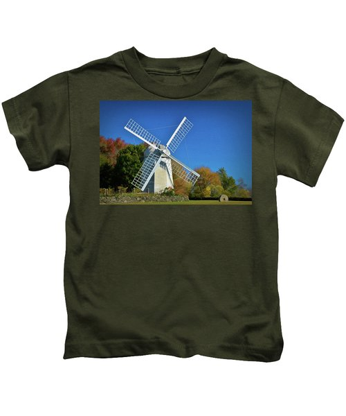 The Jamestown Windmill Kids T-Shirt