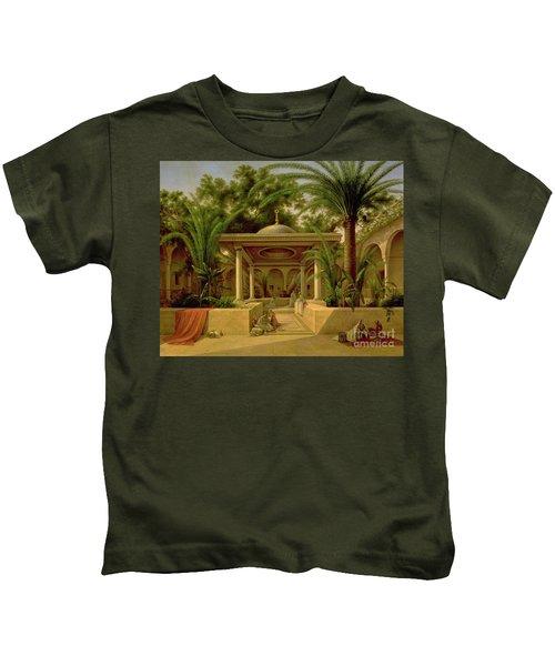 The Khabanija Fountain In Cairo Kids T-Shirt