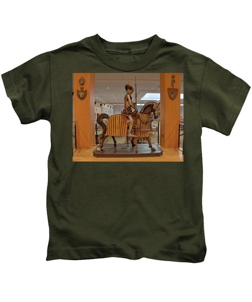 The Knight On Horseback Kids T-Shirt