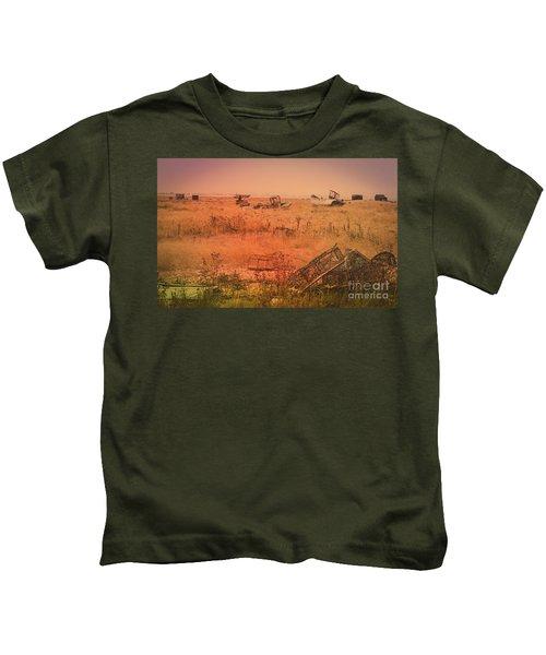 The Landscape Of Dungeness Beach, England 2 Kids T-Shirt