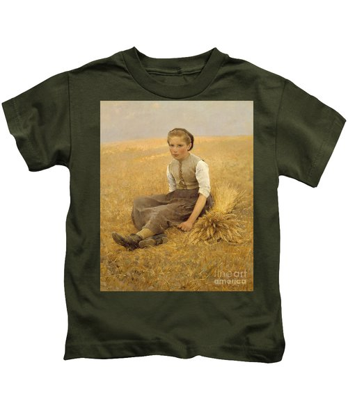 The Little Gleaner, 1884 Kids T-Shirt