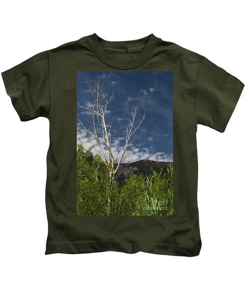The Lonely Aspen  Kids T-Shirt