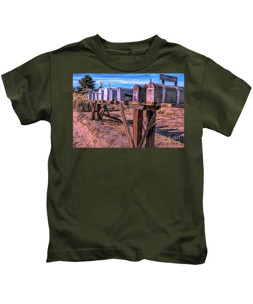 The Mailboxes Kids T-Shirt