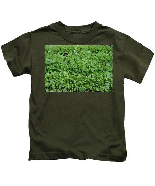 The Market Garden Landscape Kids T-Shirt