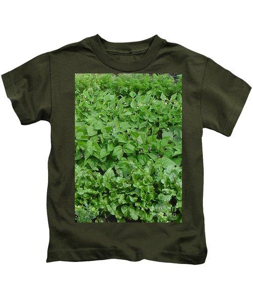 The Market Garden Portrait Kids T-Shirt