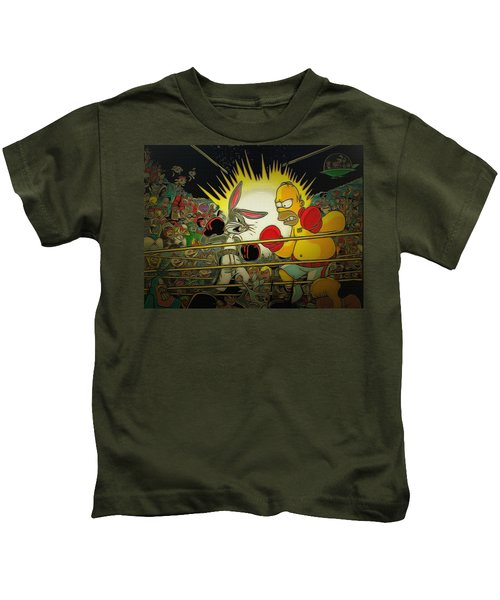 The Match Of The Century Kids T-Shirt