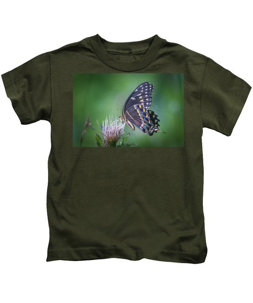 The Mattamuskeet Butterfly Kids T-Shirt