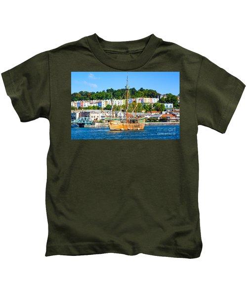 The Matthew In Bristol Harbour Kids T-Shirt