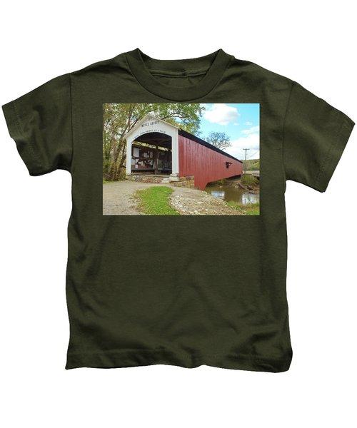 The Mecca Covered Bridge Kids T-Shirt