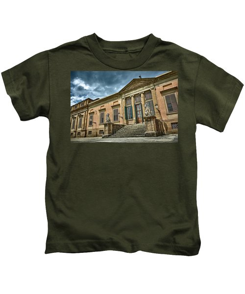 The Meridian Palace In The Pitti Palace Kids T-Shirt