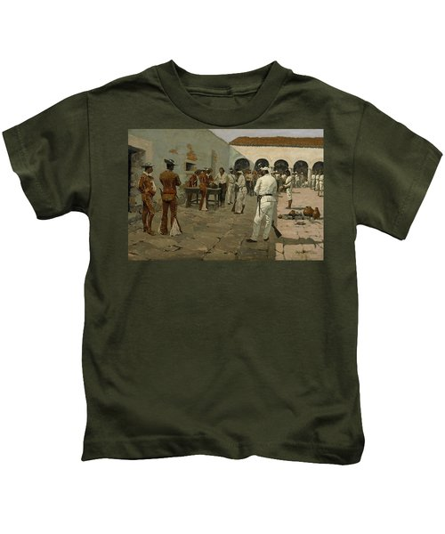 The Mier Expedition The Drawing Of The Black Bean  Kids T-Shirt