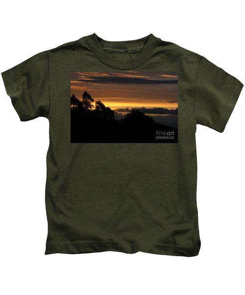 The Mountain At Sunrise Kids T-Shirt