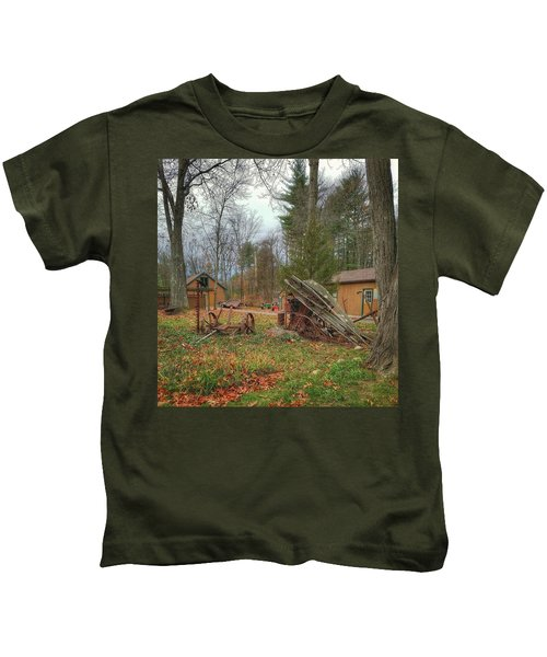 The Old Field Tools Kids T-Shirt