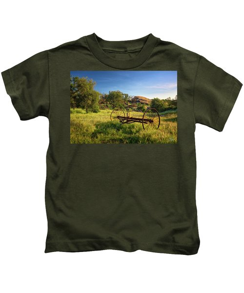 The Old Mower 1 Kids T-Shirt