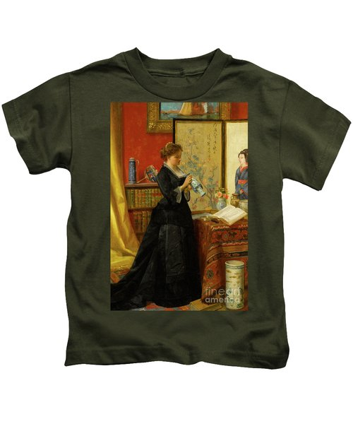 The Porcelain Collector Kids T-Shirt