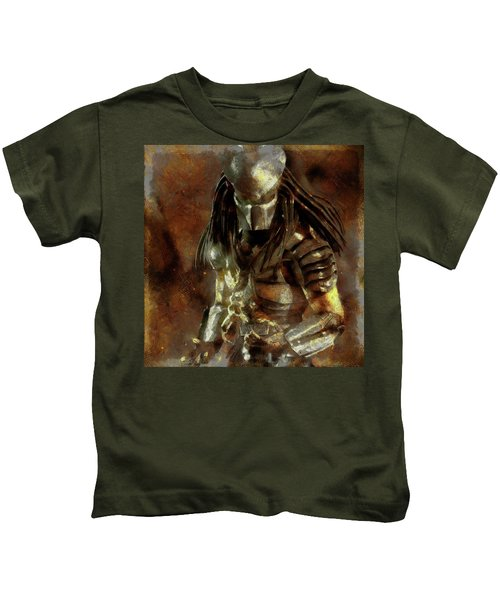 The Predator Scroll Kids T-Shirt