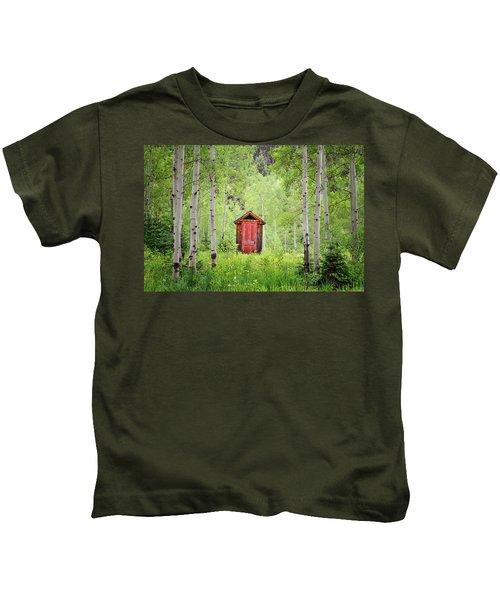 The Red Door  Kids T-Shirt