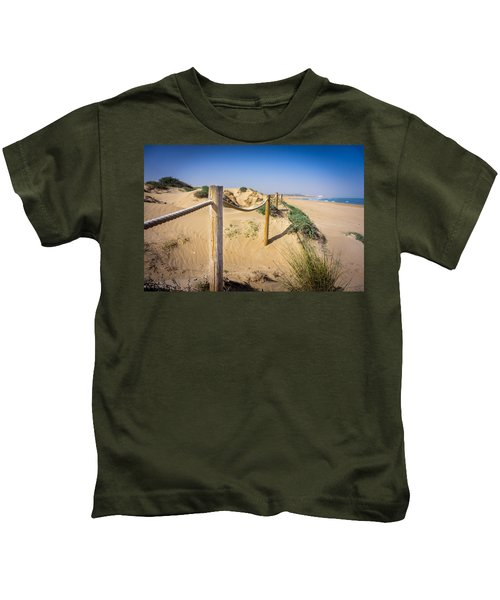 The Rope Fence. Kids T-Shirt
