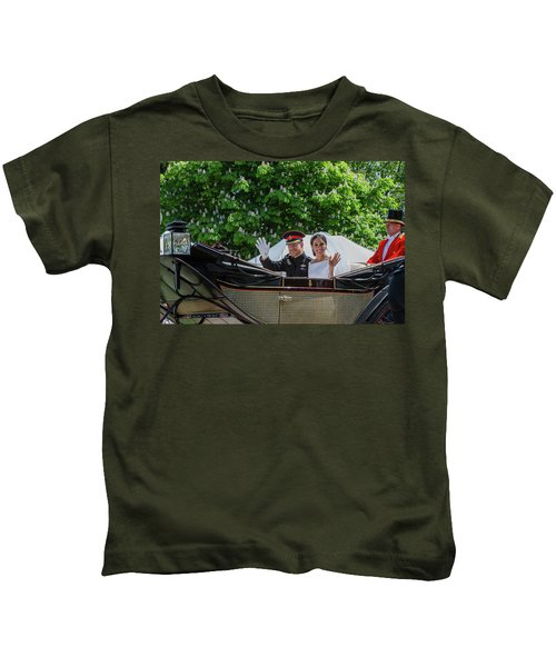 The Royal Wedding Harry Meghan Kids T-Shirt