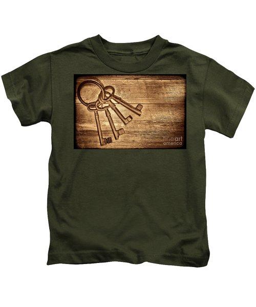 The Sheriff Jail Keys Kids T-Shirt