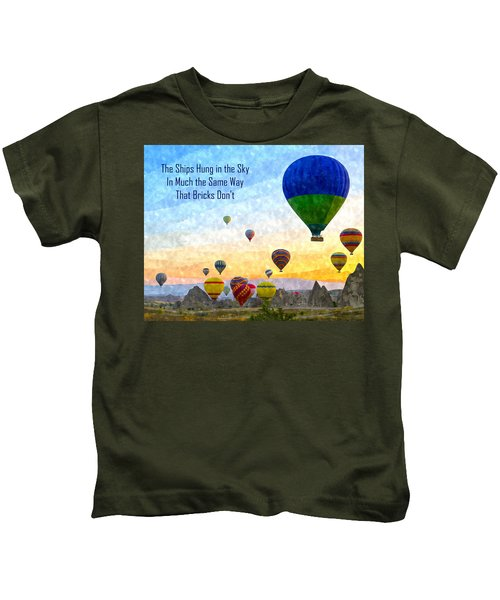 The Ships Hung In The Sky Kids T-Shirt