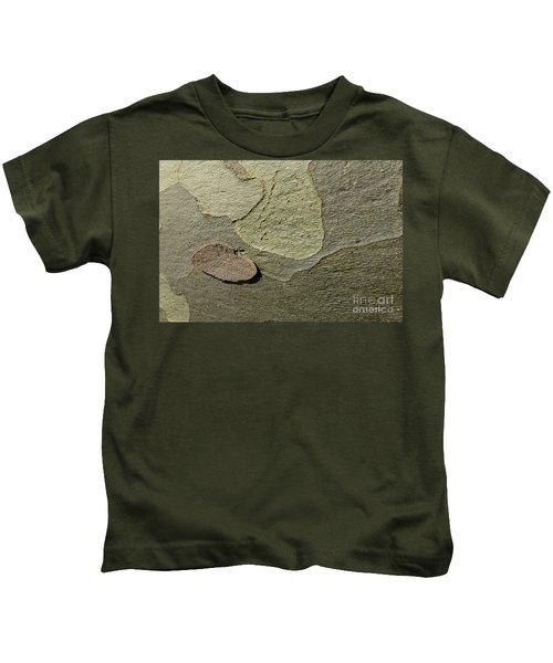 The Skin Of Tree Kids T-Shirt