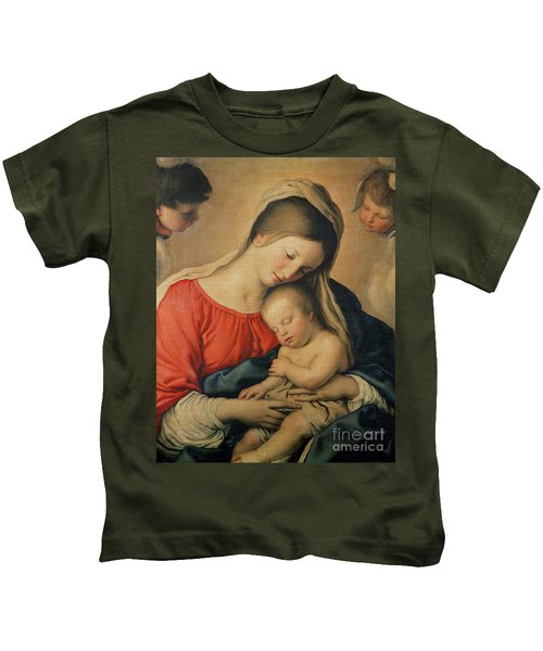 The Sleeping Christ Child Kids T-Shirt