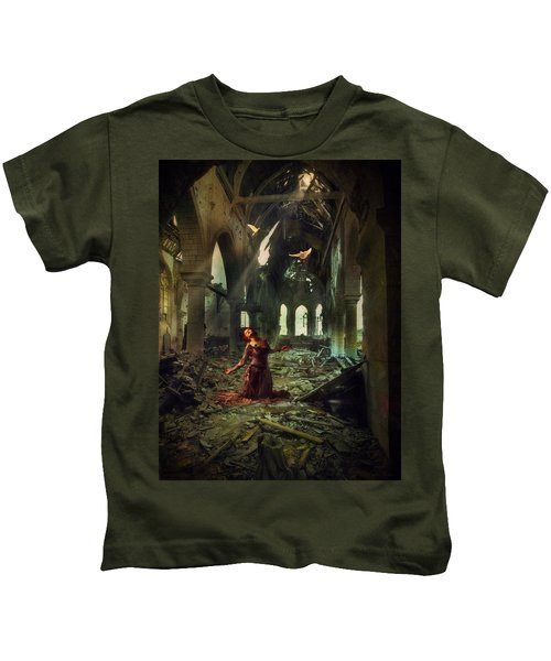 The Soul Cries Out Kids T-Shirt